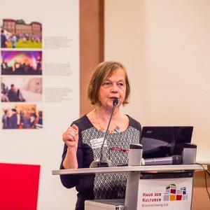Doris Bonkowski ist Leiterin des Büros für Migrationsfragen in Braunschweig. Foto: Moritz Rennecke.