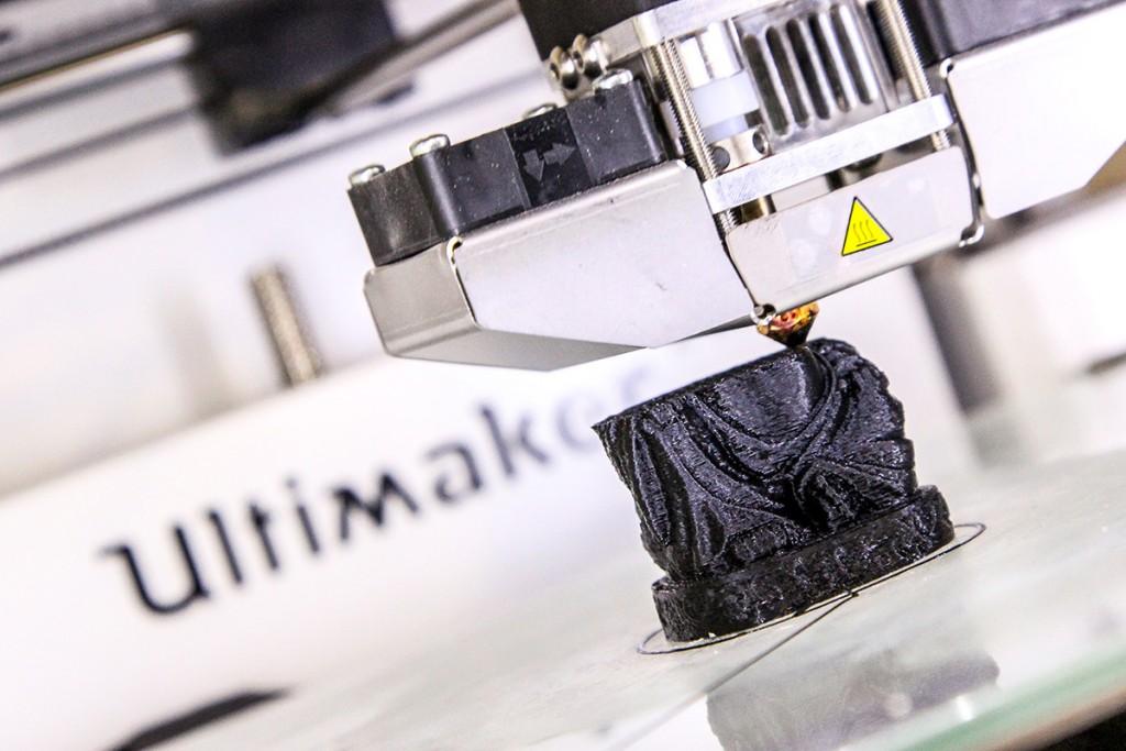 3D-Drucker im Protohaus. Foto: Stephen Dietl