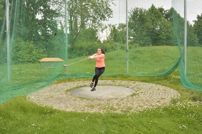 Henriette Heinichen beim Training. Foto: BSM