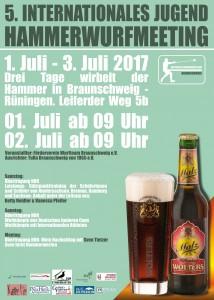 5. Internationales Hammerwurfmeeting Foto: TuRa Braunschweig e. V.