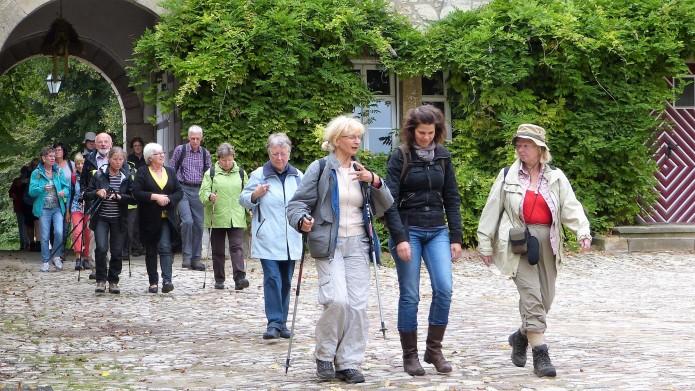 Pilgergruppe auf Braunschweiger Jakobsweg. Foto: Evangelische Akademie