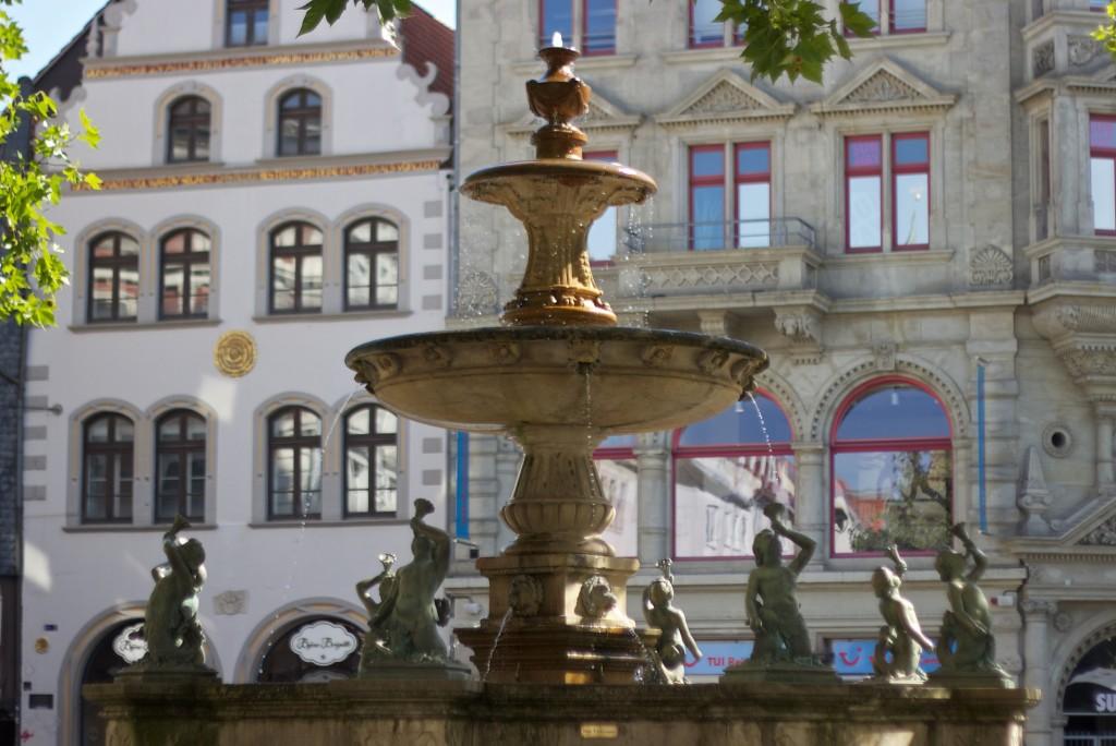 Der xx Brunnen auf dem Kohlmarkt