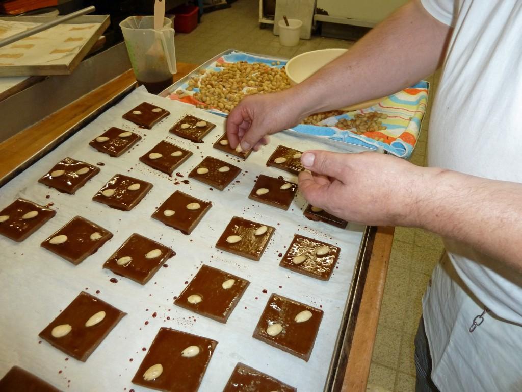 Bäckerei Fucke stellt jedes Jahr frische Braunschweiger Lebkuchen her. Foto: Karsten Fucke