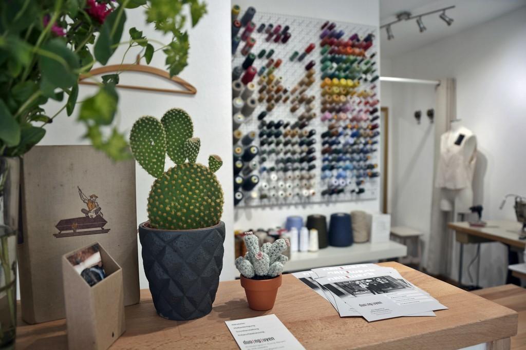 Im Nähwerk ist auch die Einrichtung stilvoll und freundlich. Foto: BSM