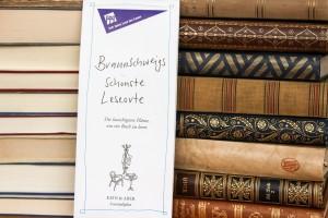 Die schönsten Leseorte in Braunschweig gibt es auch auf einem Stadtplan zu entdecken. Foto: Stephen Dietl