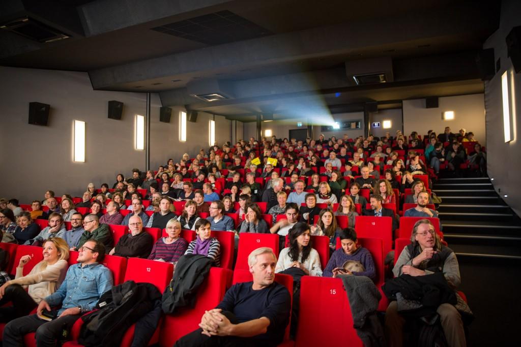 Voller Kinosaal beim Braunschweig International Filmfestival im Universum Filmtheater. Foto: BSM / Marek Kruszewski