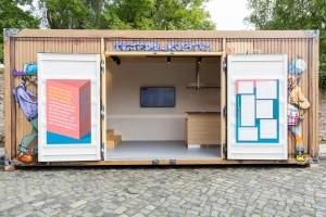 Mit dem Projekt Tetzel-Kiste erfolgt eine sinnliche, künstlerische und moderne Annäherung an das historische Thema. Foto: Stadt Braunschweig/Daniela Nielsen