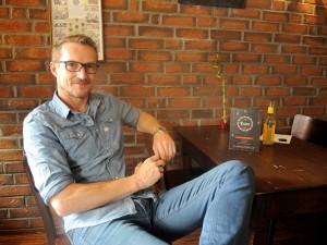 Lars Fantoni, Geschäftsführer des Quartiers. Foto: BSM