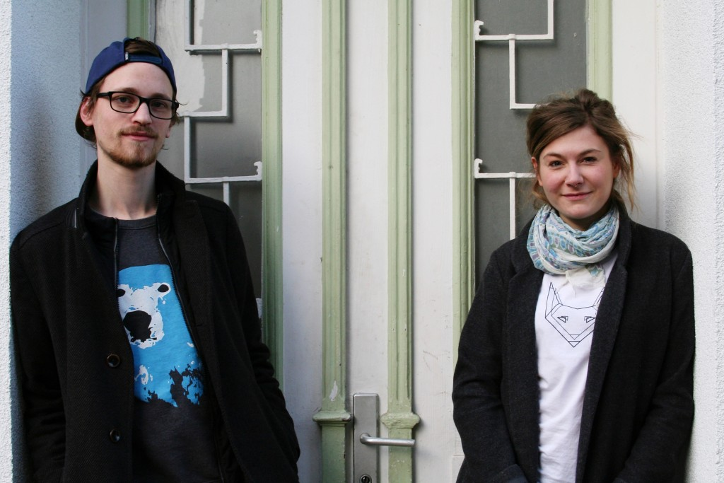 Lars Larson und Louisa Görs von Polarherz. Foto: Desiree Schober