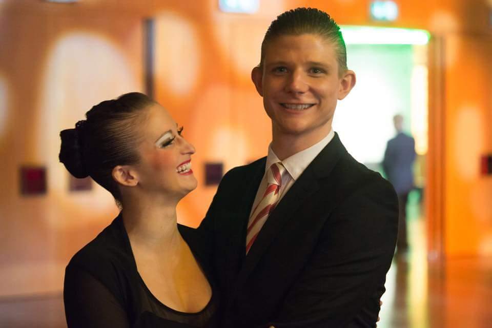 Felicitas Voss und Dustin Metz sind nicht nur lange Tanzpartner gewesen, sondern auch gut befreundet. Foto: Hermann Iwan