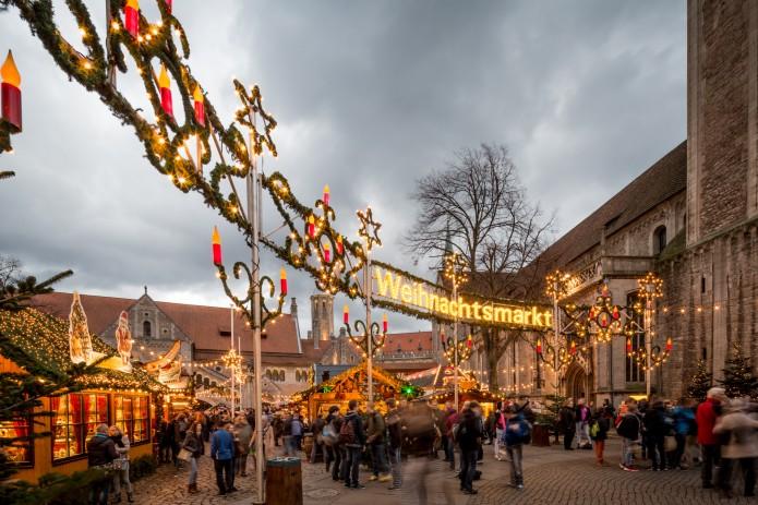 Noch bis zum 29. Dezember lädt der Braunschweiger Weihnachtsmarkt zum Bummeln und Genießen ein. Foto: BSM/Marek Kruszewski
