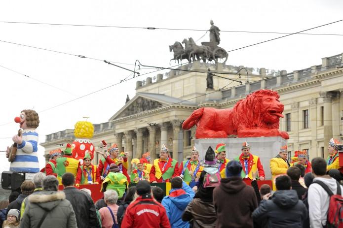 Am 11. Februar zieht in diesem Jahr der große festumzug durch die Stadt. Foto: BSM/Daniel Möller