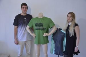 Johannes Skowron und Alina Hische sind die Gründer von Re-Athlete. Foto: BSM