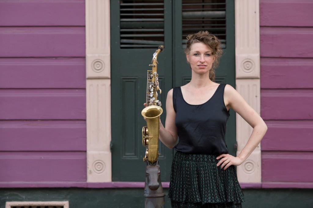 Nicole Johänntgen in New Orleans. Foto: Daniel Bernet