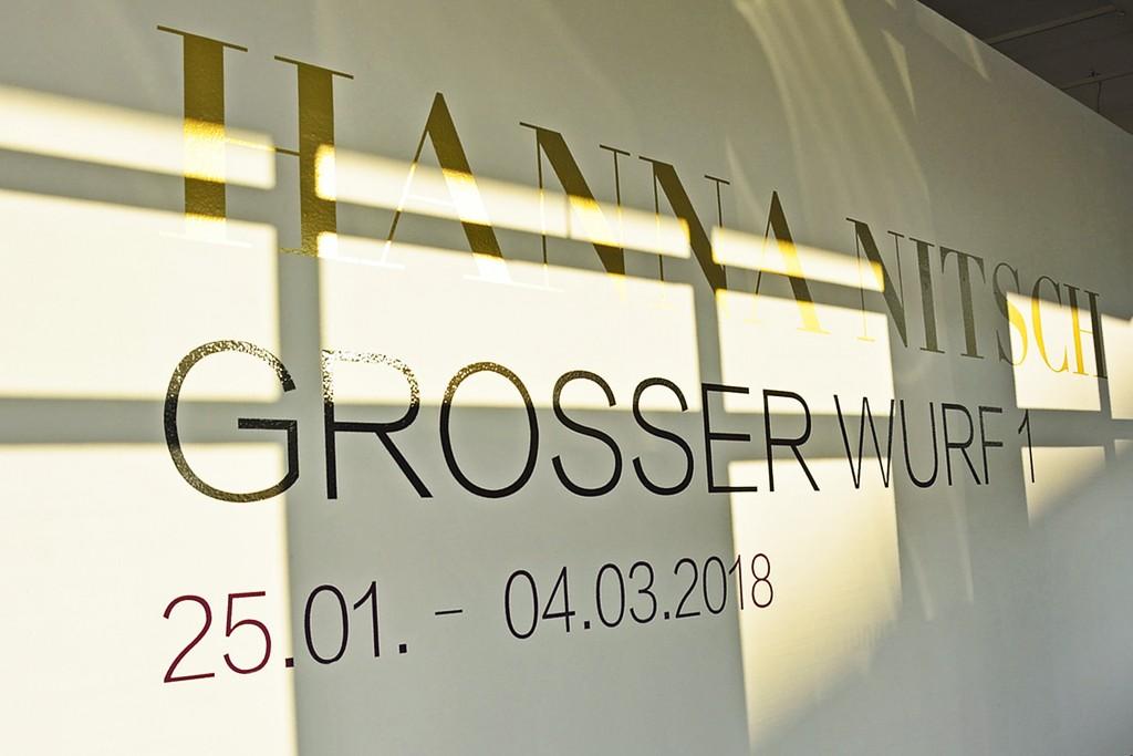 Großer Wurf 1 - die erste Ausstellung unter dem neuen Konzept der halle267.