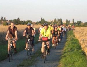Frische luft tanken bei der Radtour. Foto: ADFC BS