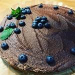 Im Café Drei kann man wechselnde veganen Kuchen essen. Foto: Jessica Möbius