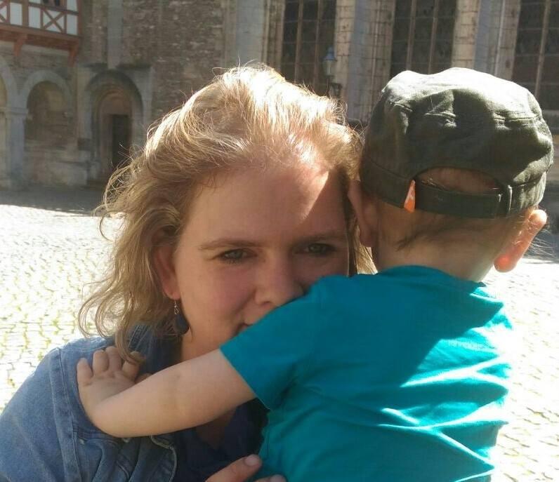 Mittlerweile ist der Kleine schon seit vier Jahren bei Janine und ihrem Mann. Foto: Privat