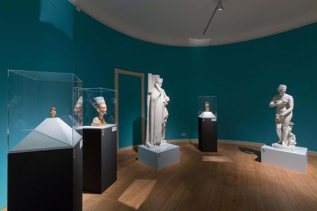 Eine Zeitreise in die Welt der Schönheitsideale. Foto: A. Pröhle, Braunschweigisches Landesmuseum
