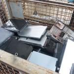 Laptops und andere elektronsiche Geräte werden hier entsorgt. Foto: BSM