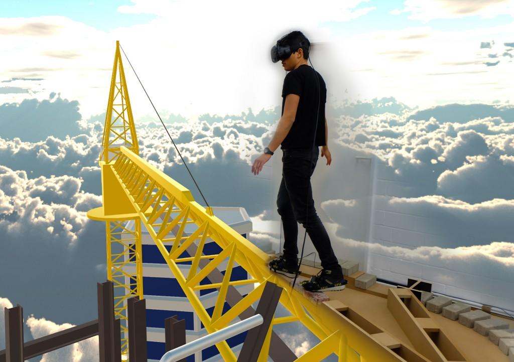 """Spannende Projekte, beispielsweise im Bereich Virtual Reality, erwarten die Besucherinnen und Besucher bei den """"Open Studios"""" der HBK. Foto: Matthias Hüttmann"""