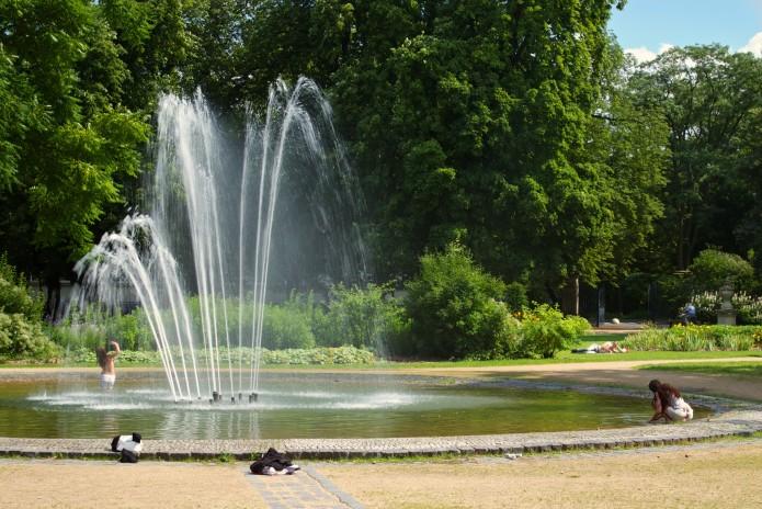 Inselwall Springbrunnen