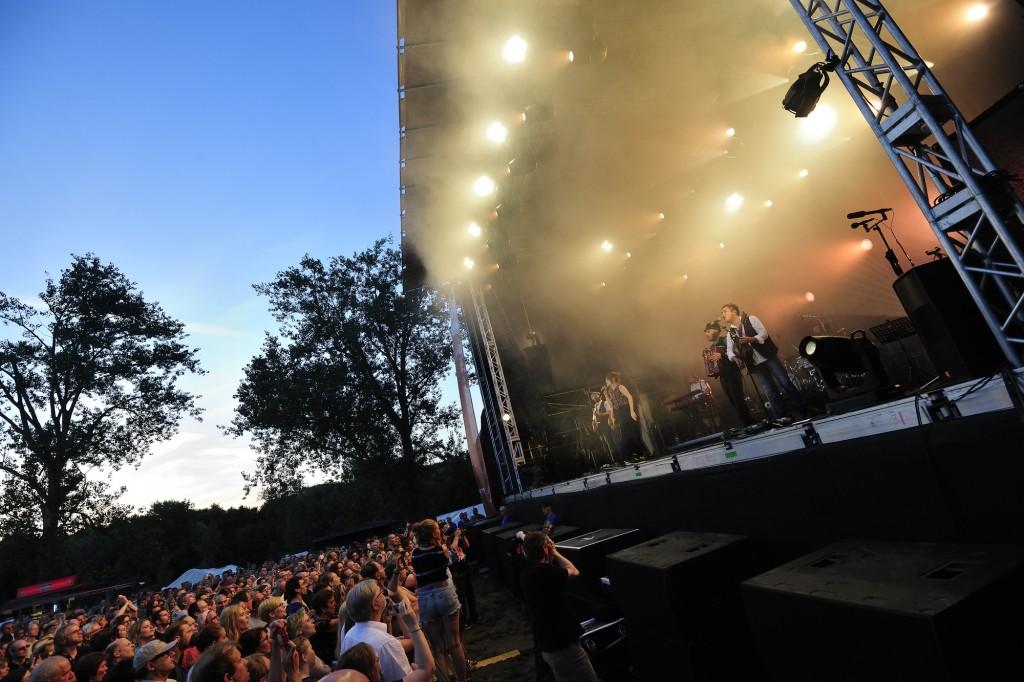 Nach zehn Jahren im Braunschweiger Raffteichbad findet das Volksbank-BraWo-Bühnen-Open-Air in diesem Jahr erstmals auf dem Gelände vom Wolters-Hof in Braunschweig statt. Foto: Undercover GmbH
