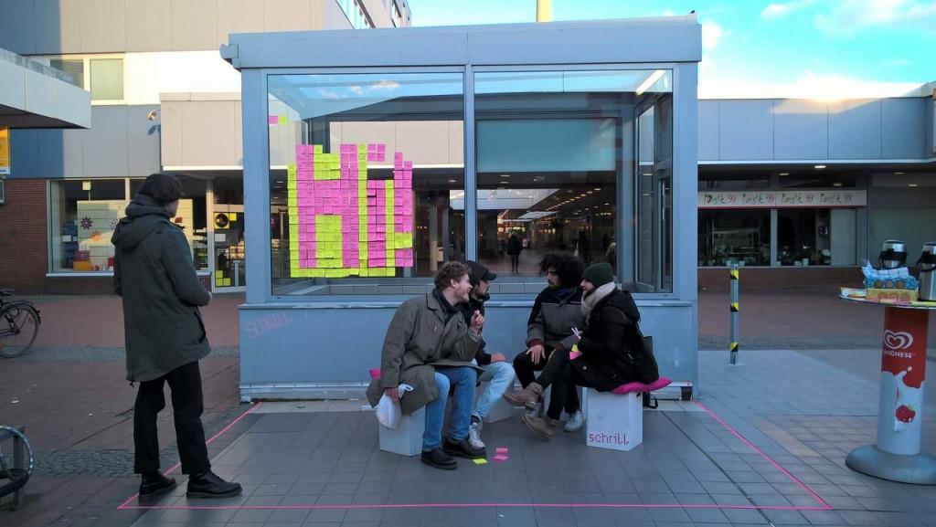 Die Aktion Weststadt calling vom Schrill. Foto: Schrill.