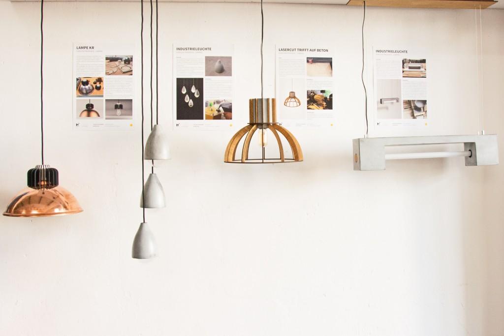 Lampen gehören zu den beliebtesten Projekten im Protohaus. Foto: BSM