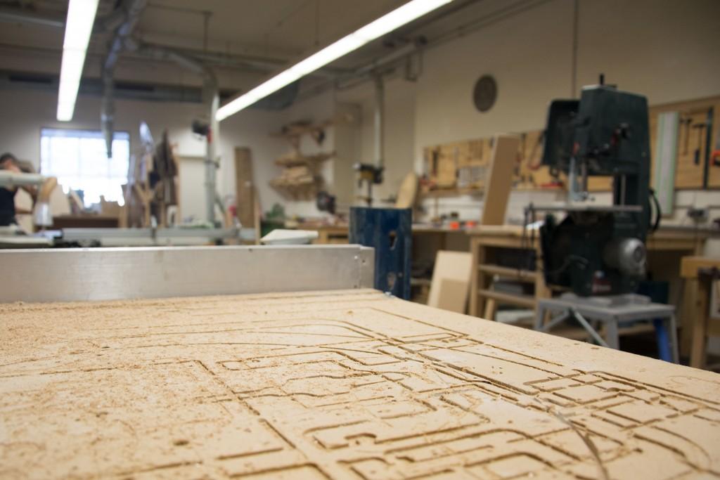 In der Holzwerkstatt des Protohauses entstehen die verschiedensten Dinge. Foto: BSM