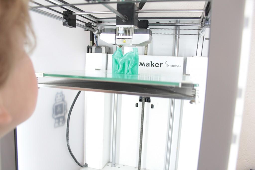 So sieht es in einem 3d-Drucker aus. Foto: Protohaus