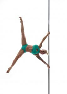 Pole Dance ist mit viel Kraft verbunden. Foto: T-Tanzstück