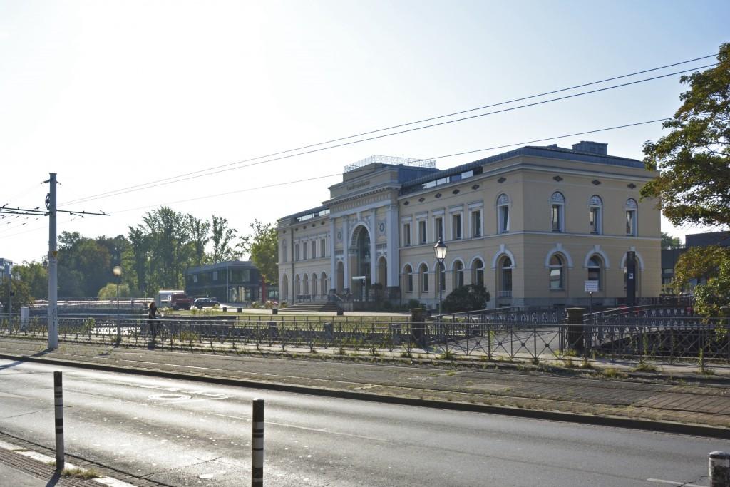 Der Alte Bahnhof zieht alle Blicke auf sich. Foto: BSM