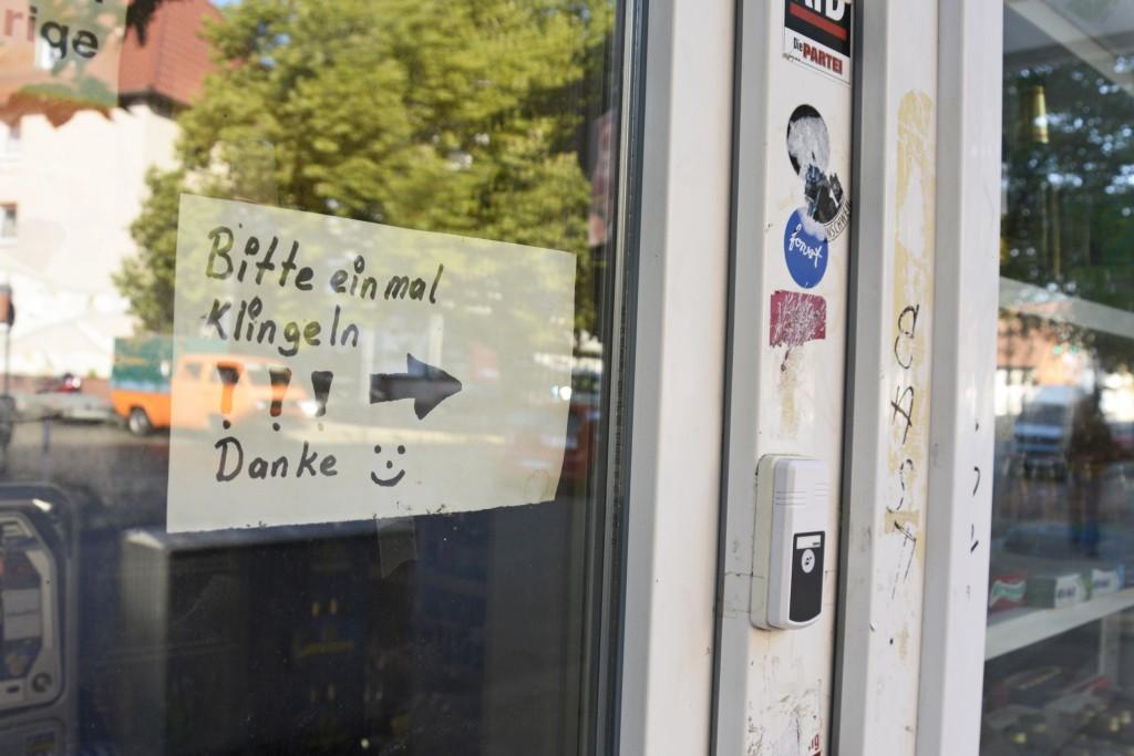 Klingel-Kiosk: Einfach cool. Foto: BSM