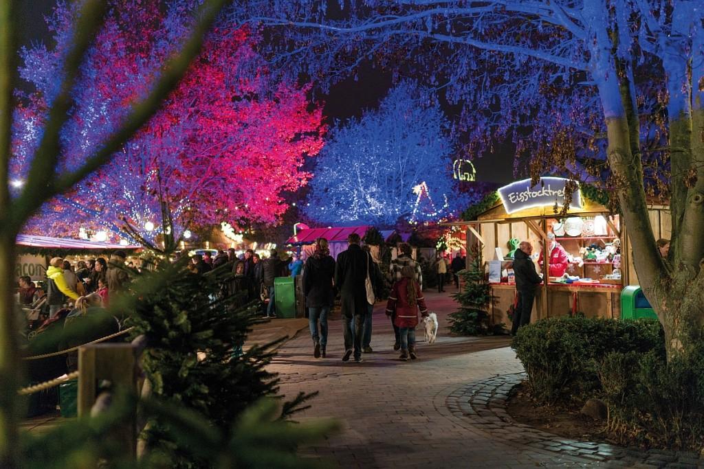 In Winter hat der Erlebnis Zoo in Hannover noch mehr als sonst zu bieten. Foto: Erlebnis Zoo Hannover