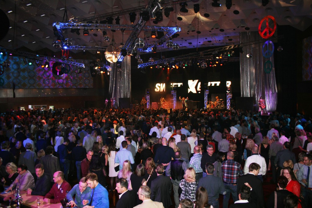 In der Stadthalle kann auf verschiedenen Floors gefeiert werden. Foto: Stadthalle Braunschweig Betriebsgesellschaft mbH.