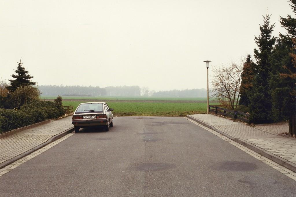 Niedersächsisches Kleinstadtidyll zeigt die Ausstellung von Laurenz Berges. Foto: Laurenz Berges