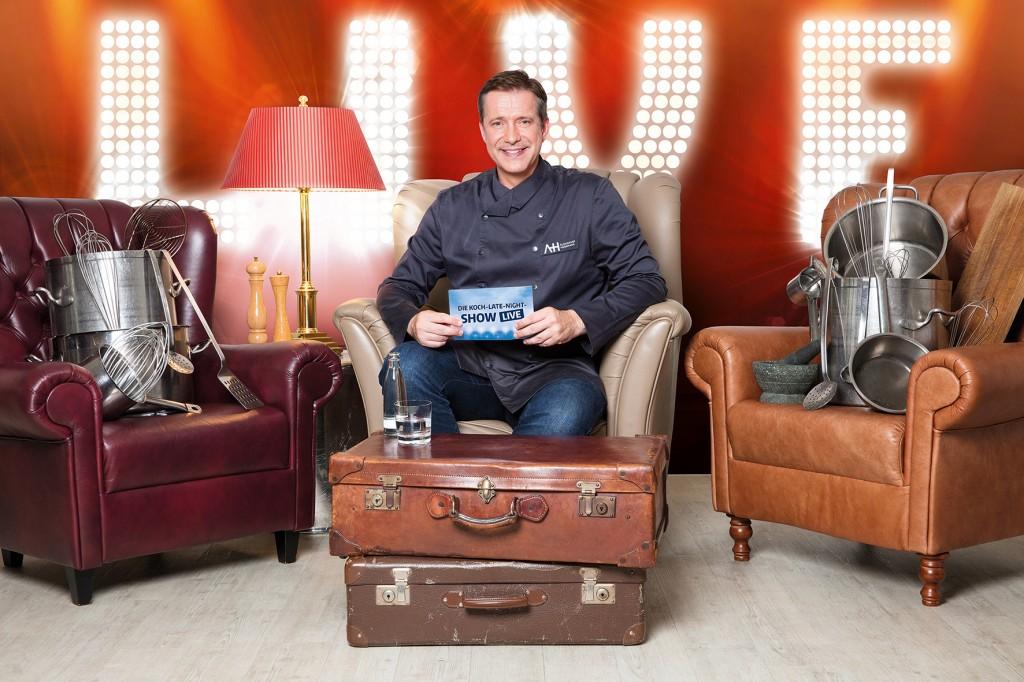 TV-Koch Alexander Herrmann hilft Hobbyköchen mit praktischen Tipps weiter. Foto: Sebastian Drüen