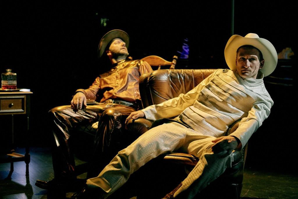 Sergio Leones Film wird am Staatstheater neu interpretiert. Foto: Joseph Ruben