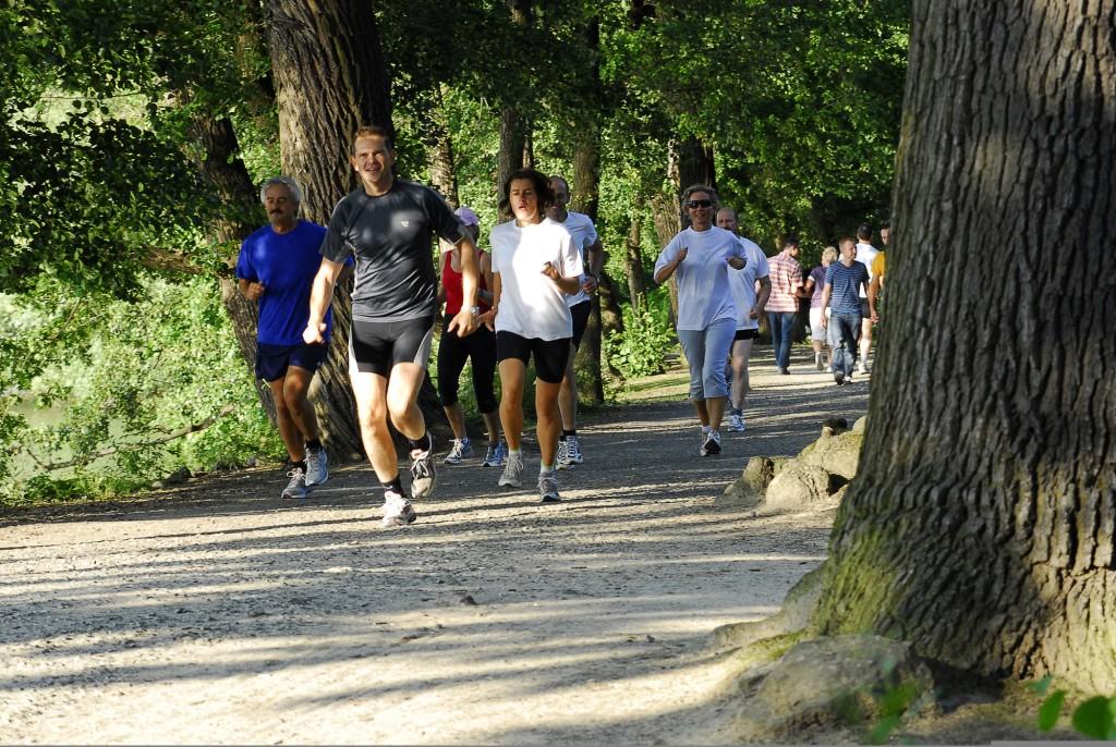 Nicht nur etwas für den Sommer: Die Braunschweiger Parks laden ganzjährig zum Joggen ein. Foto: BSM