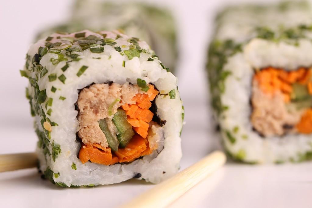 Japanisches Sushi ist einfach köstich. Foto: Pixabay