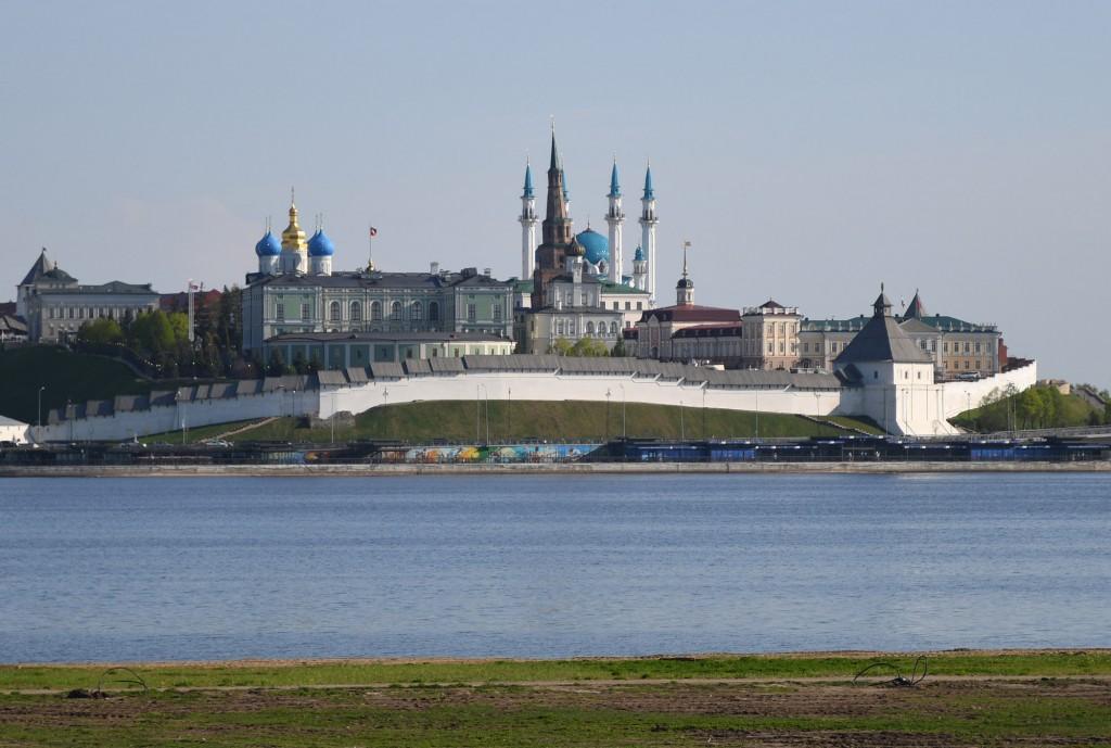 Der Kasaner Kreml ist UNESCO Weltkulturerbe und beherbergt einige der wichtigsten Sehenswürdigkeiten der Stadt. Foto: Kasan Tourismus