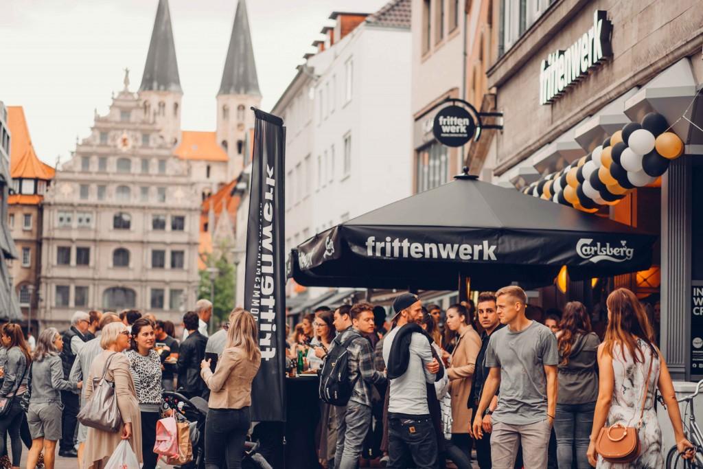 Erst vor kurzem hat das Frittenwerk in der Löwenstadt eröffnet. Foto: Frittenwerk - KIEPER FilmFotografie