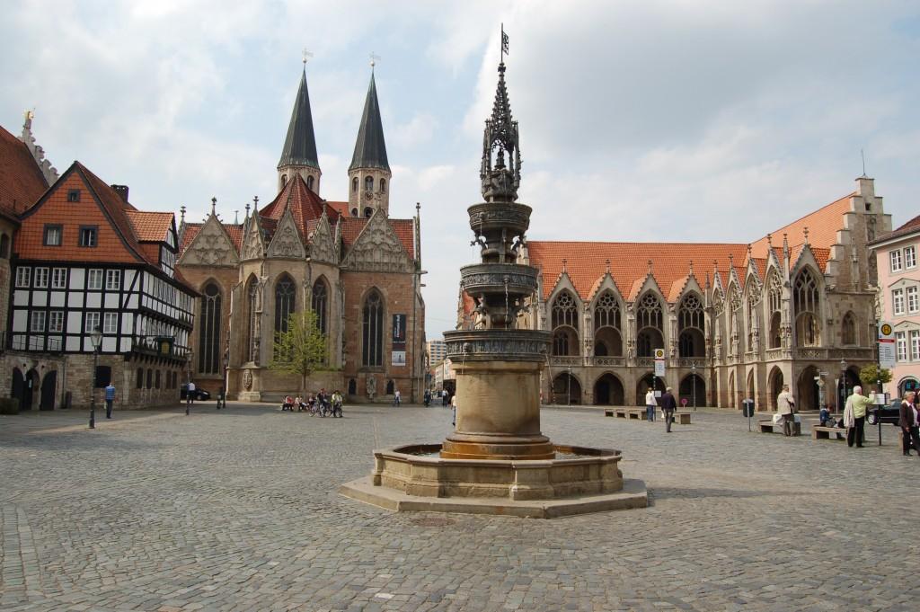 Der Altstadtmarkt in Braunschweig als Ziel für einen Städtetrip