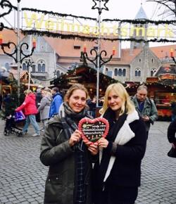 Schlemmen über den Weihnachtsmarkt