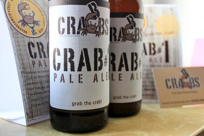 Etikett Crabbs Craft Beer, Melina Ruhr