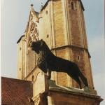 1999: Ersetzt wurde er durch eine Kopie. Foto: Stadtarchiv Braunschweig