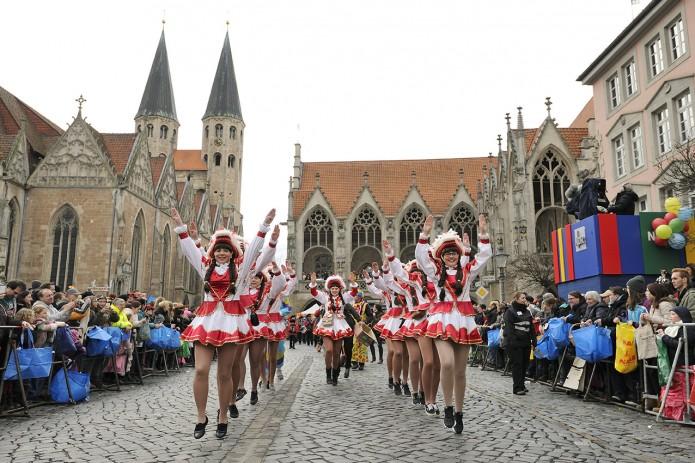 Höhepunkt der Karnevalssaison ist der Schoduvel. Foto. BSM / Daniel Möller