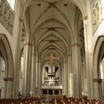 Das Interieur von St. Aegidien wurde schlicht gehalten. Foto: BSM