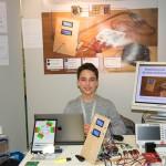 Paul Obernolte siegt mit seiner selbst entwickelten Ansteuerung für einen Drehstrommotor. Foto: BSM